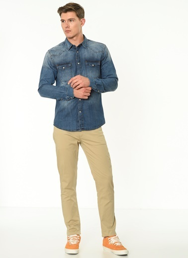 Lee Cooper Pantolon Bej